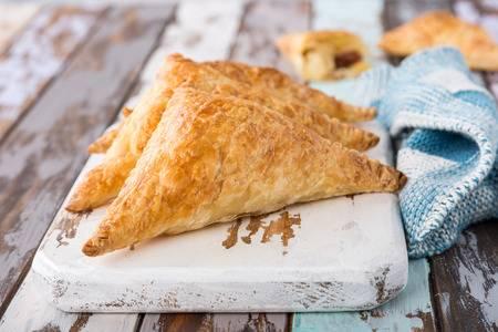 apple pie turnovers golden brown
