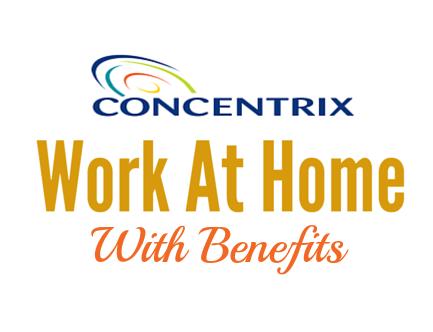 Rebelmoms Concentrix work at home jobs